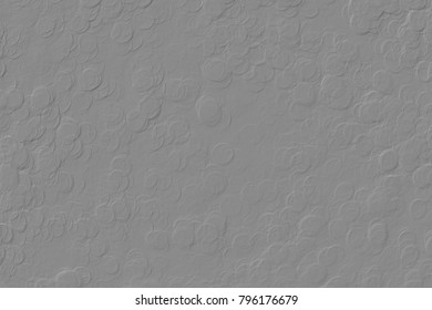 Gray embossed abstract texture background.