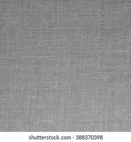Gray fabric closeup flax linen burlap texture