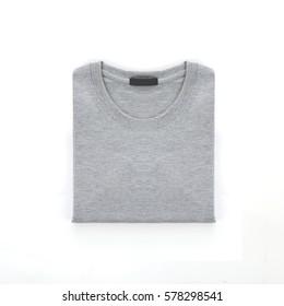 Gray Folding T-Shirt