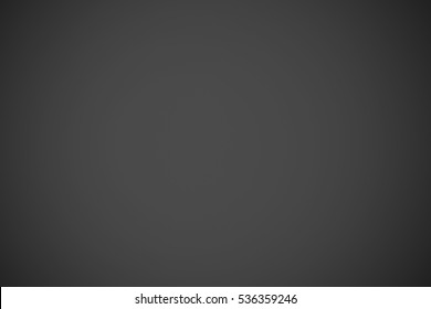 Gray gradient, abstract black background