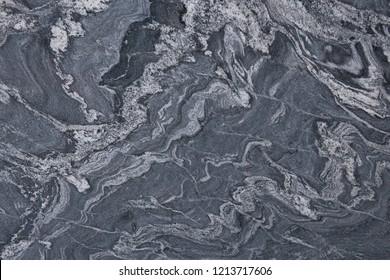 Gray Granite Close Up