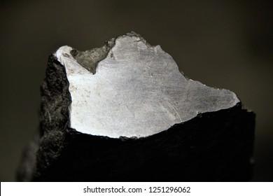 Gray Graphite From Siberia, Crystalline, Allotropic Form.