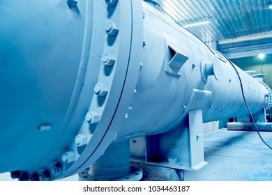 gray heat exchanger