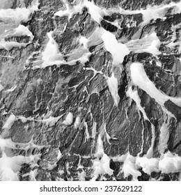 gray iced stone texture