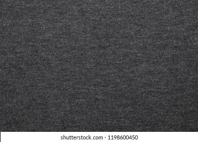 Gray knitting fabric texture background or knitted pattern background. Knitting or knitted background for design.