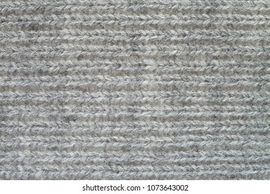 Gray knitwear texture background