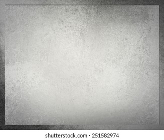 gray layered background frame with vintage grunge background texture and darker border