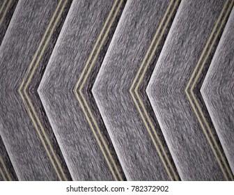 Gray line, arrow pattern.