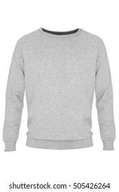 Gray, long sleeve sweatshirt