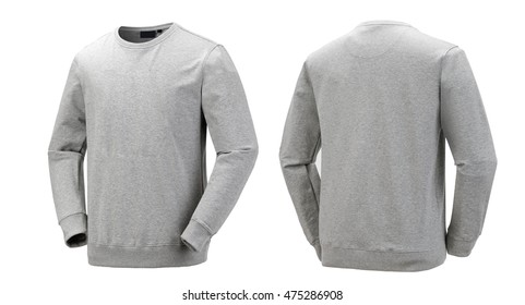 gray Long-sleeved T-shirt