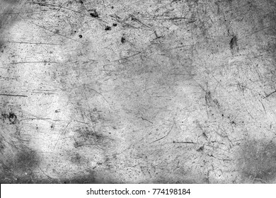 Gray metal texture. Scratched metal Background.