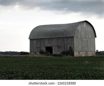 Gray Michigan Barn