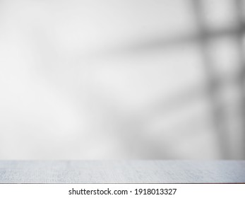 Gray overlay background with light and shadow from the window - Shutterstock ID 1918013327