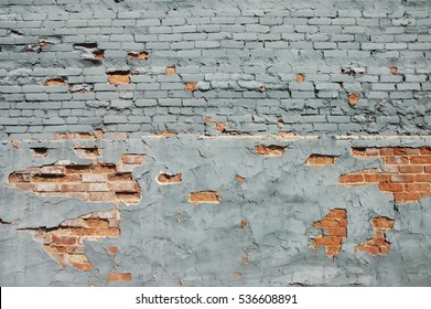 Gray Painted Brick Wall