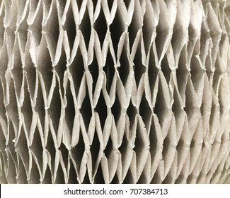 Gray paper folding abstract pattern for background.