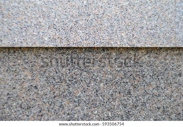 Gray Polished Granite Texture Use Background Stock Photo