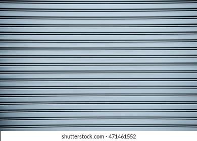 gray roller metal door background