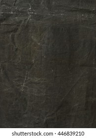 Gray rough old canvas fabric background