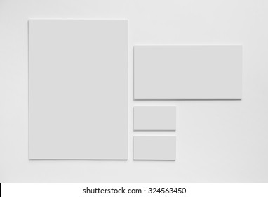 Blank business card images stock photos vectors shutterstock gray simple stationery mock up template on white background envelope business cards and wajeb Images