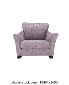gray single couch