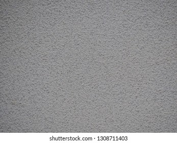 Gray skim coat cement (concrete) wall  texture for background.