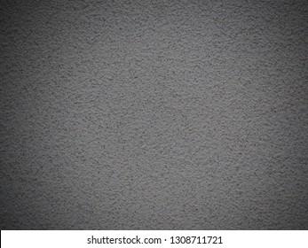Gray skim coat cement (concrete) wall  texture for vignette background.