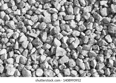 Gray slag texture in daylight