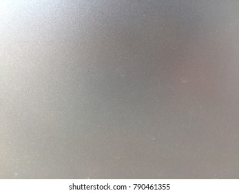 Gray smooth metal plate backdrop