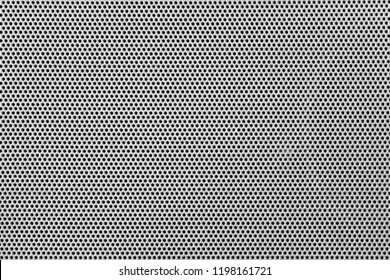 Gray steel grid background