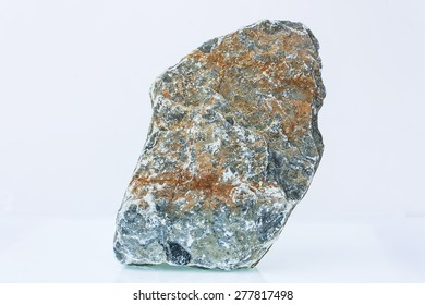 gray stone on a white background,isolate