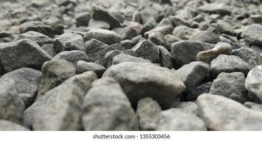 Gray Stone in railway station