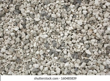 Gray stones groundwork