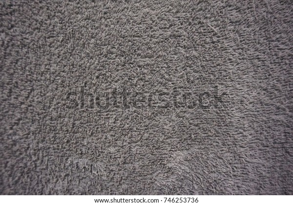 Gray towel texture background