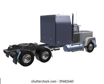 gray Truck 3D