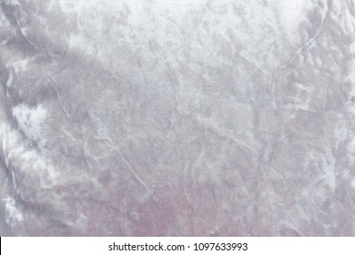 Gray velvet background or velor texture of cotton or wool with soft fluffy velvety fabric.
