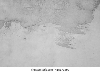 gray wall, plastered surface