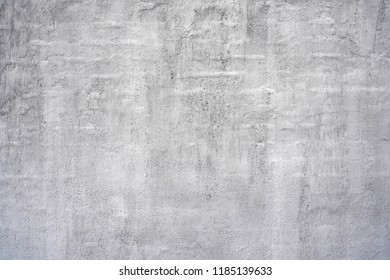 Gray wall texture  background. Plastered wall surface.