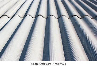Gray wavy slate roof pattern background