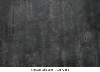 Gray-black cement wall