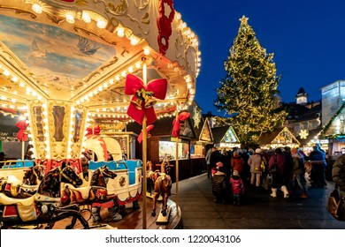 Graz advent market in the main city square