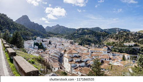Grazalema, Spain, a pueblo blanco (white village) near Cadiz, Andalucia, Spain