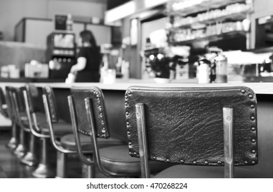 Greasy and Old Vintage Diner