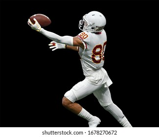 Great action photos of football players making amazing plays during a football game