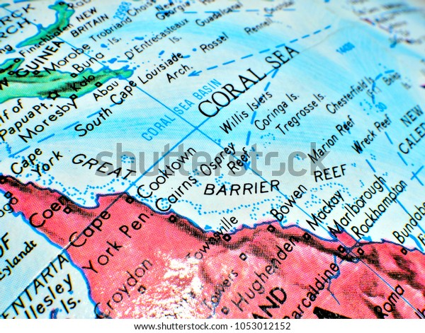 Great Barrier Reef Coral Sea Australia Stock Photo (Edit Now ...