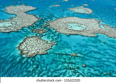 Great Barrier Reef off the coast of Queensland, Australia.