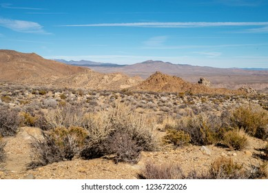 Great Basin Desert, Eastern Sierra Nevada mountains, California, USA