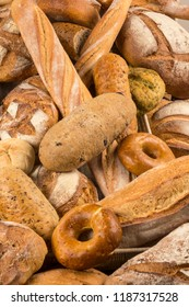 Great bread variety French heritage of bread bakery that uses the best qualities found in grains