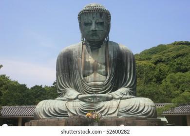 The Great Buddha, Daibutsu, Kamakura