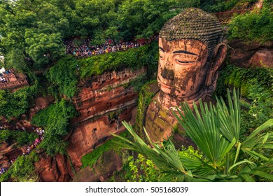 The Great Buddha of Leshan, China