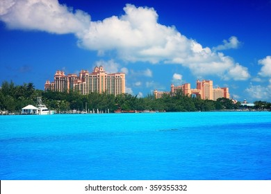 great casino building Atlantis in Nassau Bahamas
